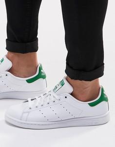 Белые кожаные кроссовки adidas Originals Stan Smith M20324 - Белый
