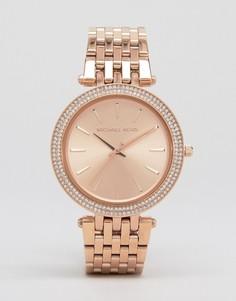 Часы с покрытием из розового золота Michael Kors Darci MK3192 - Золотой