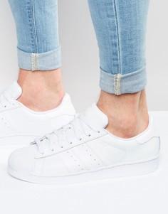 Мужские белые кроссовки adidas Originals Superstar B27136 - Белый