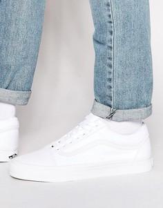 Белые кроссовки Vans Old Skool VD3HW00 - Белый