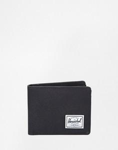 Бумажник двойного сложения Herschel Supply Co Roy - Черный
