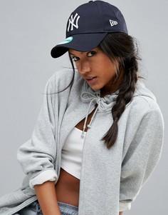Темно-синяя кепка New Era 9Forty NY - Темно-синий