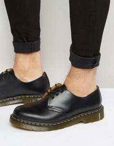 Туфли с 3 парами люверсов Dr Martens Original 11838002 - Черный