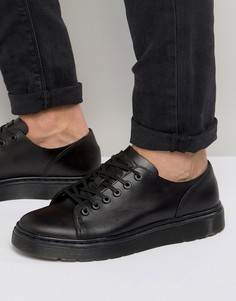 Туфли с 6 парами люверсов Dr Martens Fusion - Черный
