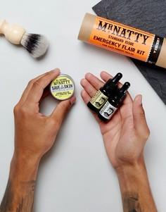 Набор средств для бороды с эликсирами Mr Natty Emergency Flair - Белый