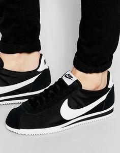 Черные нейлоновые кроссовки Nike Classic Cortez 807472-011 - Черный