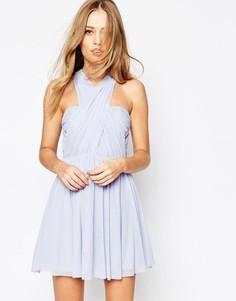 Платье мини ASOS WEDDING - Розовый