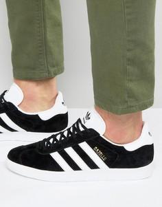 Черные кроссовки adidas Originals Gazelle BB5476 - Черный