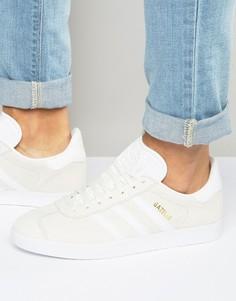 Белые кроссовки adidas Originals Gazelle BB5475 - Белый