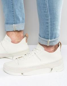 Кожаные кроссовки Clarks Originals Trigenic - Белый