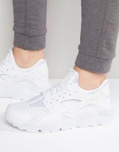 Белые кроссовки Nike Air Huarache 318429-111 - Белый