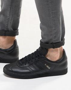 Мужские черные кроссовки adidas Originals Gazelle BB5497 - Черный