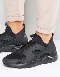 Черные кроссовки Nike Air Huarache Run Ultra 819685-002 - Черный