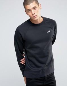 Черный свитшот Nike SB Icon 800153-010 - Черный