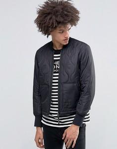 Черная стеганая куртка‑пилот Cheap Monday Trouble - Черный