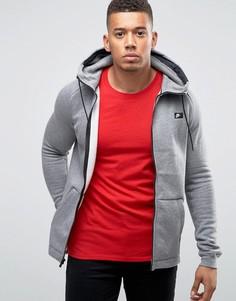 Худи серого цвета на молнии Nike 835858-091 - Серый