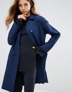 Удлиненное пальто ADPT - Черный
