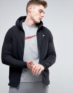 Худи черного цвета на молнии Nike Modern 835858-010 - Черный