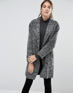 Свободное пальто Closet - Серый
