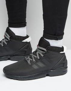 Черные кроссовки adidas Originals ZX Flux 5/8 S75943 - Черный