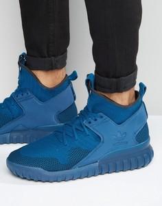 Темно-синие кроссовки adidas Originals S80131 - Темно-синий