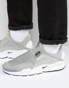 Серые кроссовки Nike Sock Dart 819686-002 - Серый