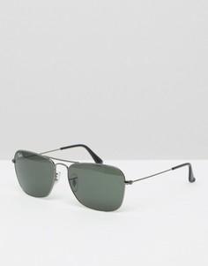 Солнцезащитные очки-авиаторы Ray-Ban 0RB3136 - Черный