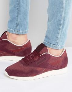 Красные нейлоновые кроссовки Reebok Classic AR0898 - Красный
