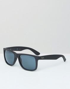 Вайфареры с поляризованными стеклами Ray-Ban 0RB4165 - Черный