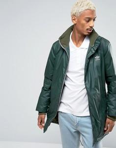 Парка цвета хаки adidas Originals Fallen Future BR1812 - Зеленый