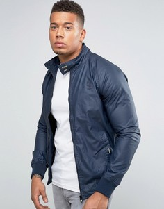 Вощеная куртка Харрингтон Firetrap - Темно-синий