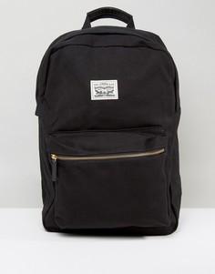 Черный парусиновый рюкзак Levis - Черный