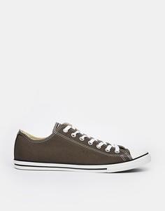 Коричневые кеды Converse All Star Lean 142274C - Серый