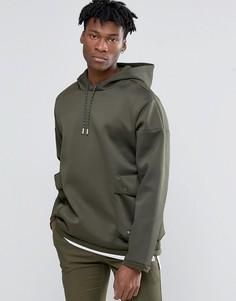 Худи зеленого цвета adidas Originals Badlander AY8524 - Зеленый