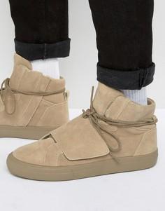 Замшевые кроссовки ALDO Alalisien - Бежевый
