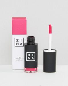 Стойкая губная помада 3ina - жидкая губная помада - Розовый