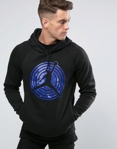 Худи черного цвета Nike Jordan AJ11 823714-010 - Черный