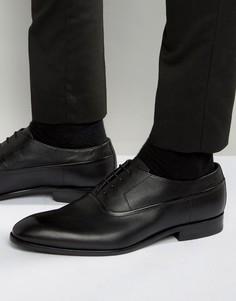 Фактурные оксфордские туфли HUGO by Hugo Boss Dressapp - Черный