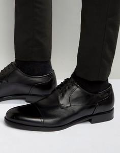 Туфли дерби с отделкой HUGO by Hugo Boss Tempt - Черный