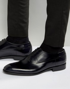 Блестящие оксфордские туфли HUGO by Hugo Boss Dressapp - Черный