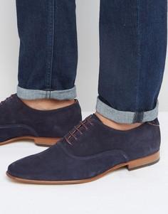Замшевые оксфордские туфли Paul Smith Starling - Синий