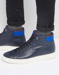 Высокие кроссовки Paul Smith Shima - Синий