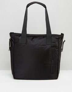 Нейлоновая сумка-тоут AllSaints - Черный