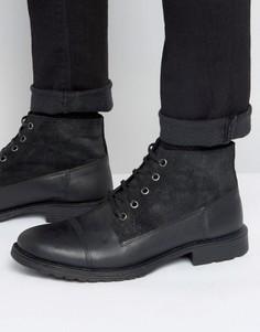Ботинки на шнуровке Jack & Jones Kingsley - Черный