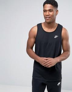 Черная майка Nike Futura 827282-010 - Черный