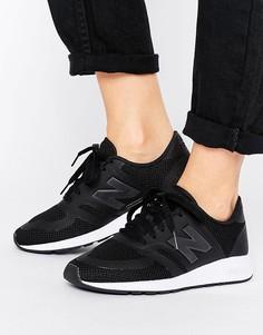 Черные кроссовки из микросеточки New Balance 420 - Черный