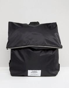 Дутый рюкзак на молнии Cheap Monday - Черный