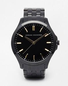 Черные часы из нержавеющей стали Armani Exchange AX2144 - Черный