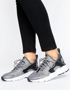 Серые кроссовки Nike Huarache Run Ultra - Серый