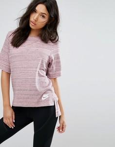 Трикотажный топ Nike Advance - Розовый